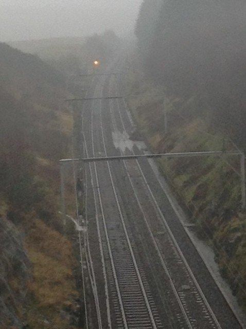 West Coast main line shut between Oxenholme and Carlisle due to floods and landslips: SHAP landslip
