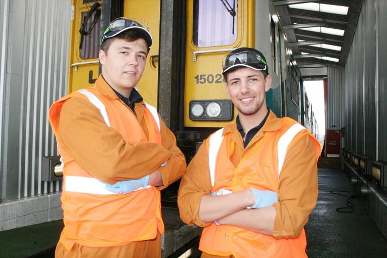 Bright future for Arriva Trains Wales apprenticeship scheme graduates: Dale and Jordan-2