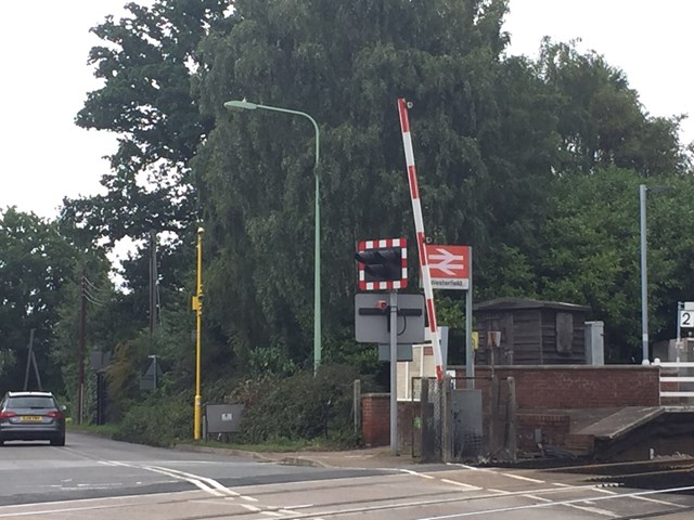 Westerfield level crossing RLSE cameras