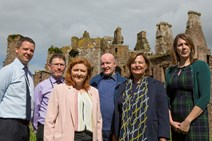 Rise in visitor numbers to historic sites: Caerlaverock 1