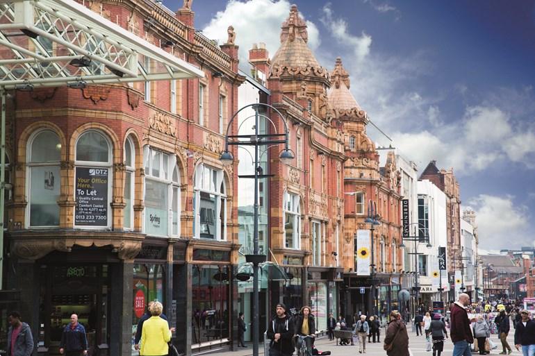 Leeds city centre enjoys bumper footfall weekend