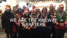 The Railway Grafters, Network Rail's Christmas choir