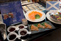 Scottish salmon promotion at Isetan store