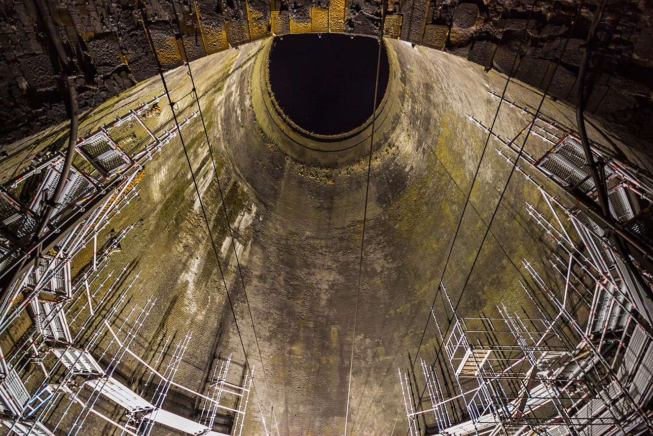 Iconic Northamptonshire landmark preserved for decades to come: Great Northern Shaft credit GBickerdike