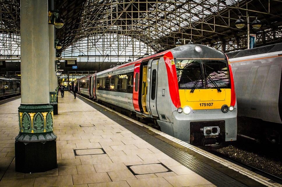 Rail journeys over 50 miles now cheapest ever as Transport for Wales (TfW) launches first pricing initiative: ManchesterPiccadillyRailStation2018.10.25-85