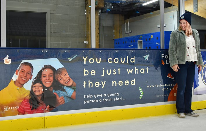 Fostering families in Leeds set to benefit from council's exciting partnership with skating rink: Foster4Leeds Planet Ice