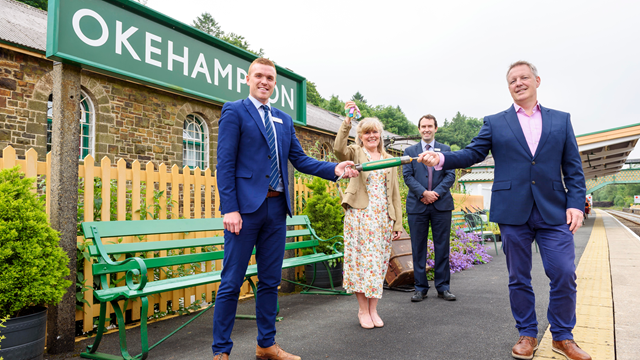 Network Rail commences ownership of Dartmoor Line and Okehampton station: Dartmoor Line and Okehampton Station handover