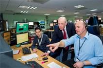 DFM John Swinney visit to SSE Network Management Centre