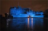 Edinburgh Castle to turn blue for UN: Edinburgh Castle