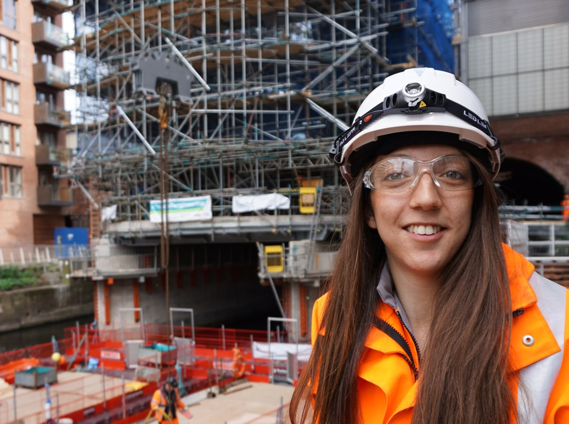 Network Rail's Penny supports Women in Engineering Day: Penny Gilg-2