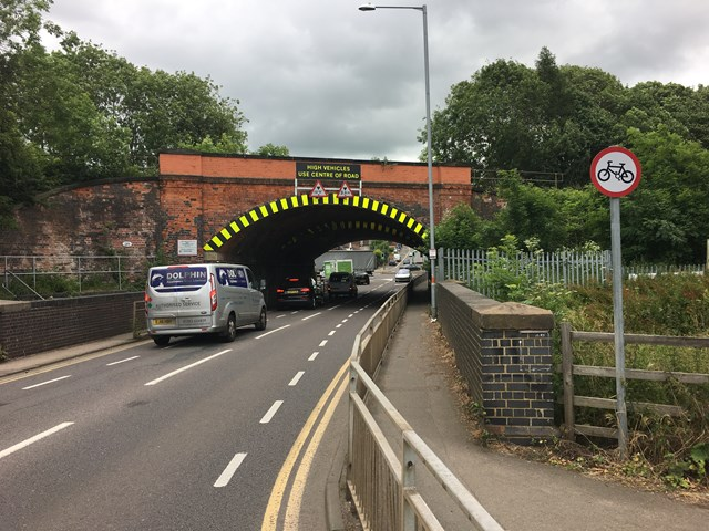 Kettering rail bridge set for upgrade: Northampton Road bridge