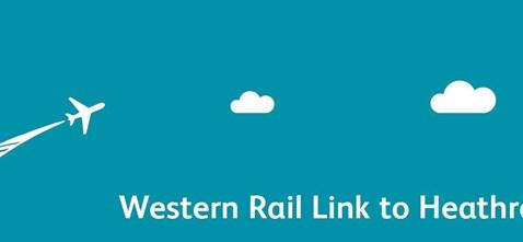 Western Rail link to Heathrow logo
