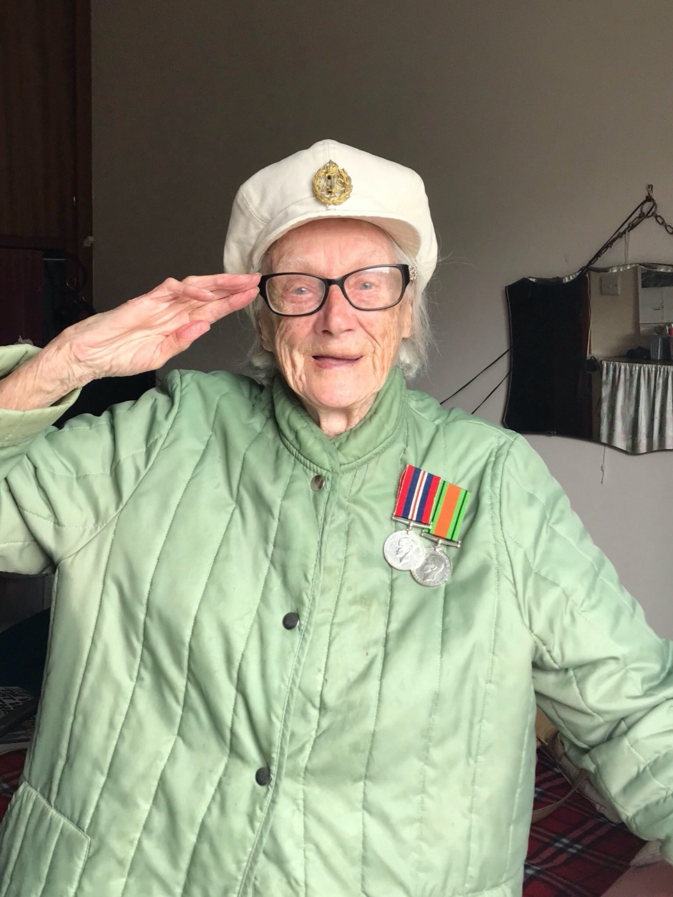 VE Day 75: Zoom calls with WW2 vets, tea parties at home and a silence to unite the nation: Mrs Edna Leon