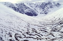 Coire Ardair in Winter. Creag Meagaidh National Nature Reserve ©Lorne Gill-NatureScot