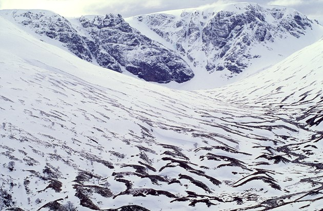 More people flock to Highlands national nature reserves in 2020: Coire Ardair in Winter. Creag Meagaidh National Nature Reserve ©Lorne Gill-NatureScot