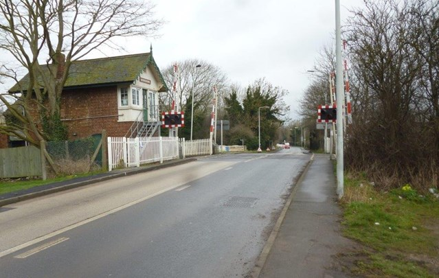 Level crossing upgrades will improve safety and reliability in the East Midlands: Bingham level crossing is one of the three to be upgraded
