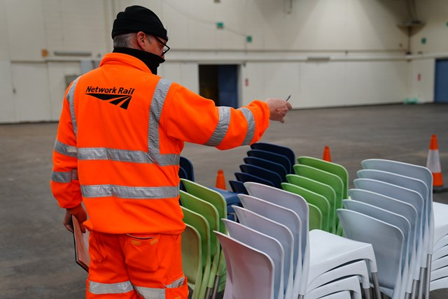 Network Rail volunteers in action