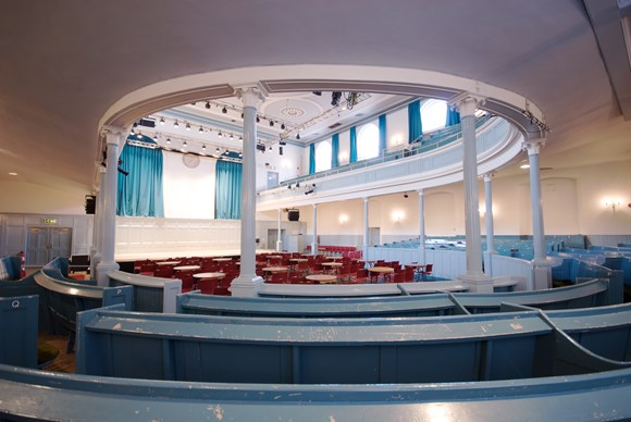 Iconic Edinburgh venue to benefit from £240,000 recovery funding: Queen's Hall  7735 - Version 2