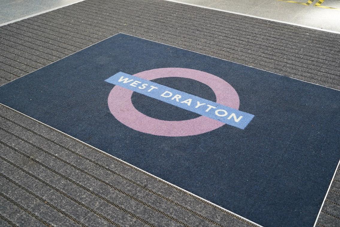 TfL Image - PN076 - West Drayton entrance welcome mat-4