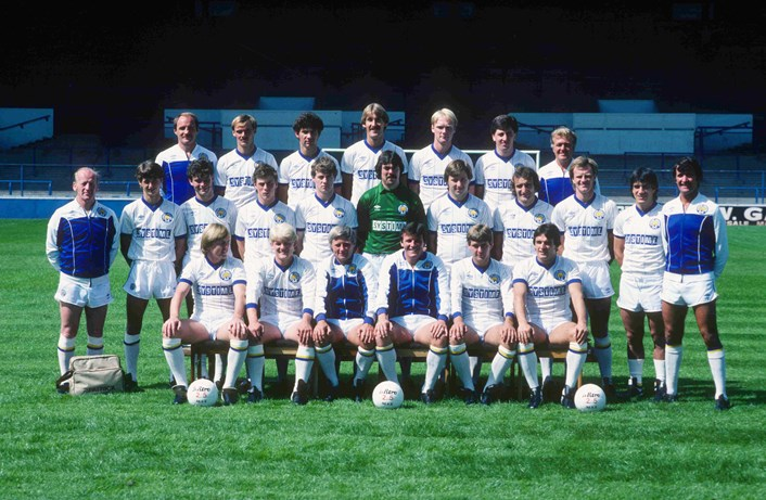 Leeds to Innovation online: Leeds United were sponsored by Systime during their 1983/84 season. Picture credit LUFC.