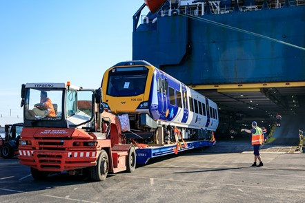 Northern's first new train arrives in the UK: NR-006