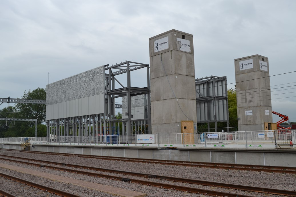 PICTURES:  Cambridge's new station is taking shape: DSC 0151