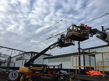 Overhead wire replacement Ilford