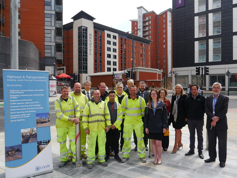 Completion of £2million Leeds city centre road upgrade works marked: northernstreetjunctioncomplete.jpg