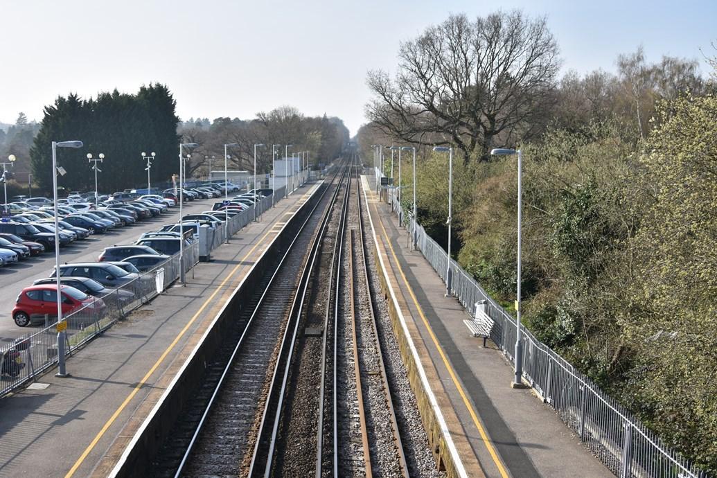 Longer platforms for longer trains: Network Rail completes Sunningdale station upgrades: Sunningdale station - 1