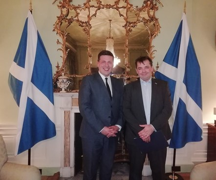 Canadian Fintech Leader Latest Addition to GlobalScot Network: Jamie Hepburn Robin Grosset