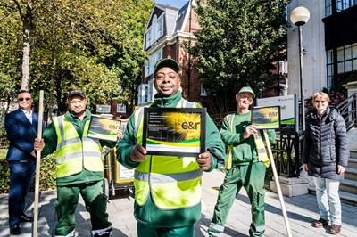 Sweeper of the Year award celebrates hard work of borough's street cleaners