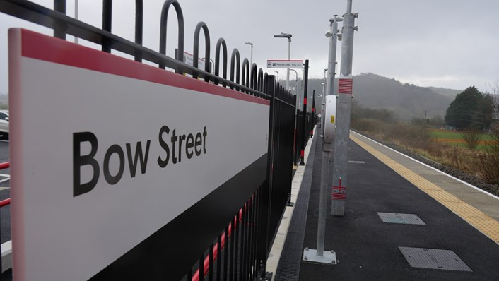 Bow Street sign