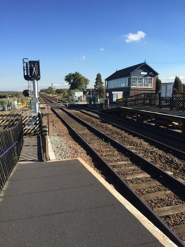 Passengers are urged to check before they travel as work continues to upgrade railway in East Yorkshire