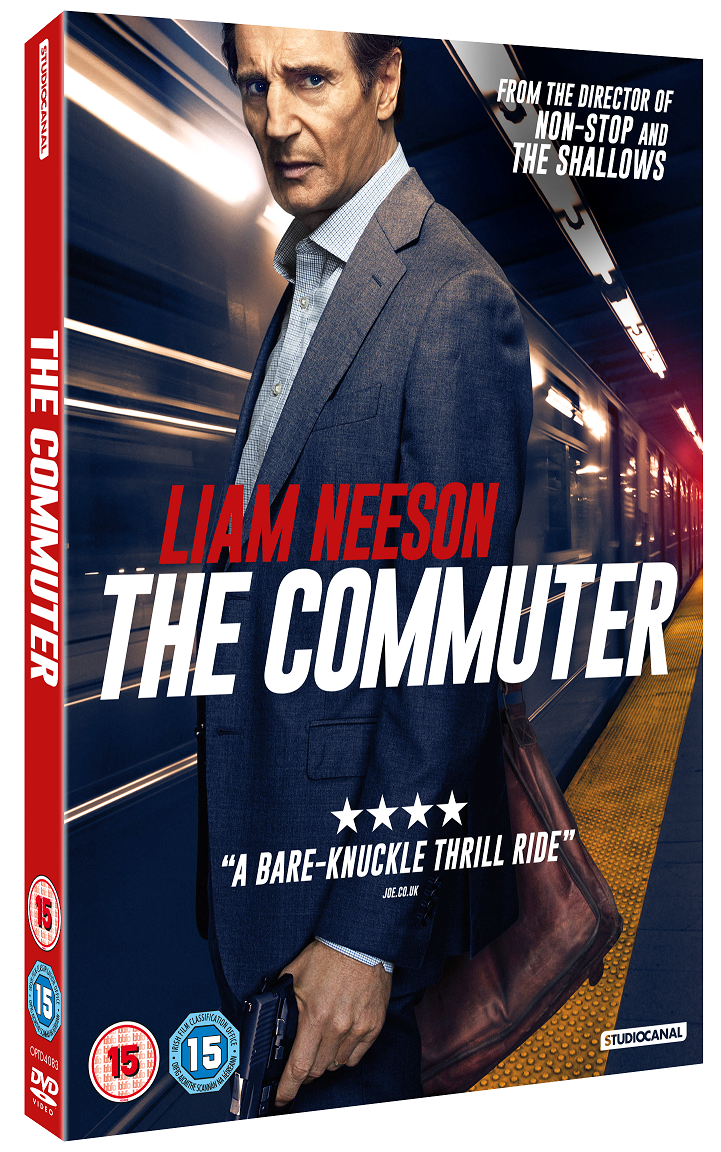 Hilarious Commuting Stories: TheCommuter DVD 3D O-Card small (002)