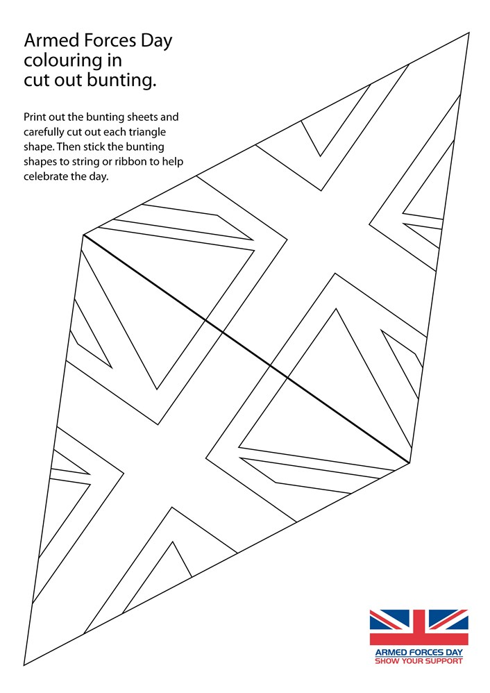 AFD bunting colour in Page 1