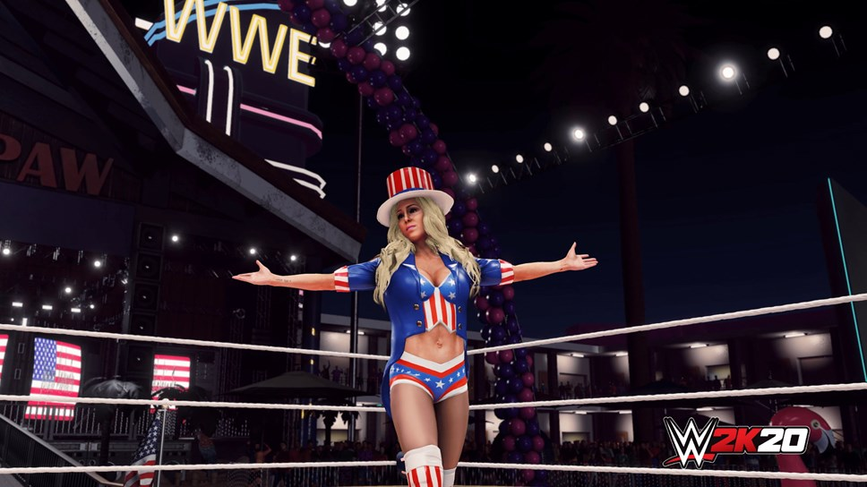 WWE® 2K20 Originals: Southpaw Regional Wrestling Available Now: WWE2K20 Originals Southpaw Regional Wrestling Charlotte Flair