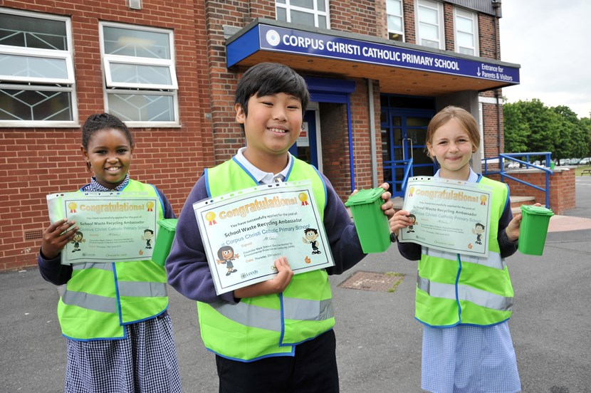 Recruitment drive for school recycling champions gets underway: recyclingadvisors.jpg