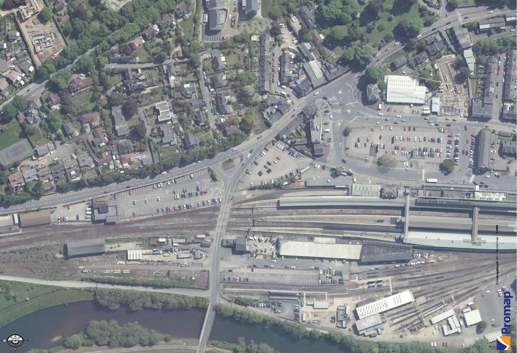 NETWORK RAIL KICKS OFF SEARCH FOR DEVELOPMENT PARTNER AT EXETER ST DAVIDS STATION: Exeter St Davids