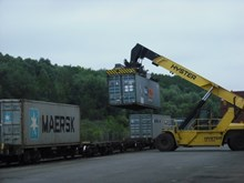 Overall, freight has seen a 70% increase since the mid-1990s: Wine transported into Bristol via trains
