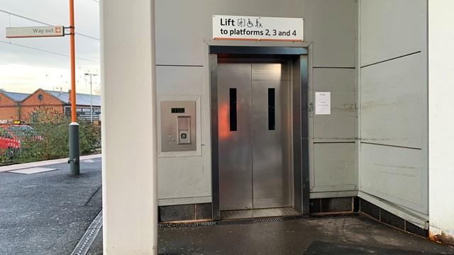 Wolverhampton lift renewal