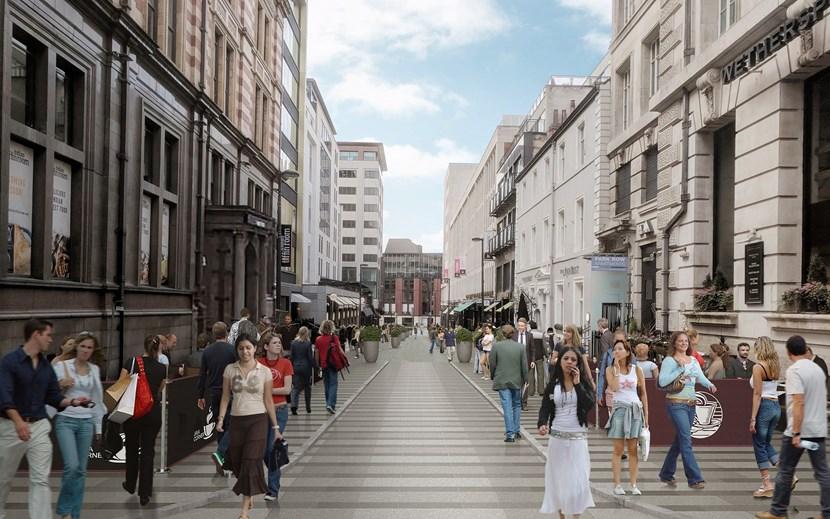 Council secures quarter of a million pounds investment for popular city centre destination: greekstreetcgimediumres-715504.jpg