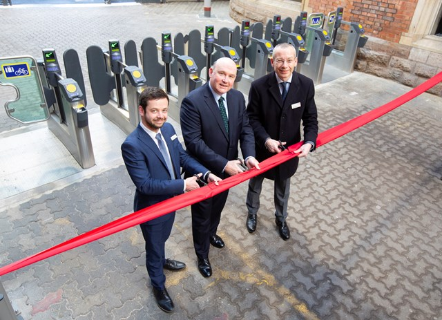 Passengers at Bristol Temple Meads to benefit from easier station access as new ticket barriers are officially opened: New ticket gates Bristol Temple Meads - John Lanchester Tim Bowles Mark Langman