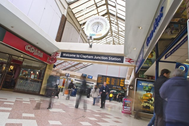 Clapham Junction station entrance