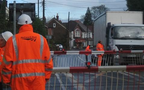 Horsham Rd level crossing awareness day