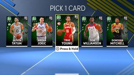 NBA 2K22 MyTEAM Starter Players
