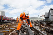 Track renewal work will take place at Waterloo during two weekends in March 2017 (1)