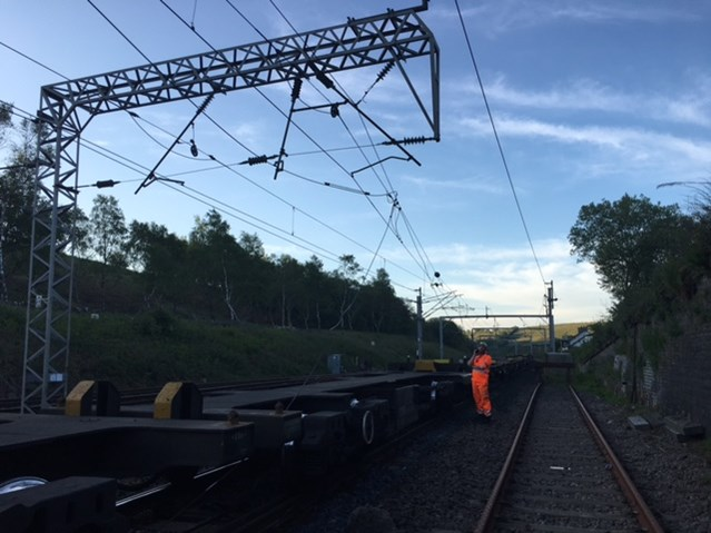 Passengers in Cumbria urged to check before they travel on Monday 29 May: Engineers are currently fixing damaged overhead line equipment on the West Coast Main Line 3