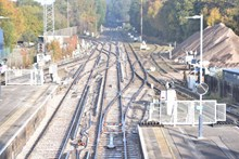 Network Rail has completed nine days of upgrade works at Fareham in which nine sets of points were replaced [1]