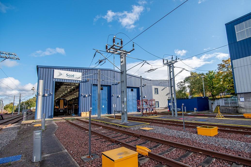 Shields depot (exterior)