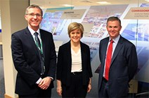 International oil and gas company expanding to Scotland: https://www.flickr.com/photos/scottishgovernment/13536751125/